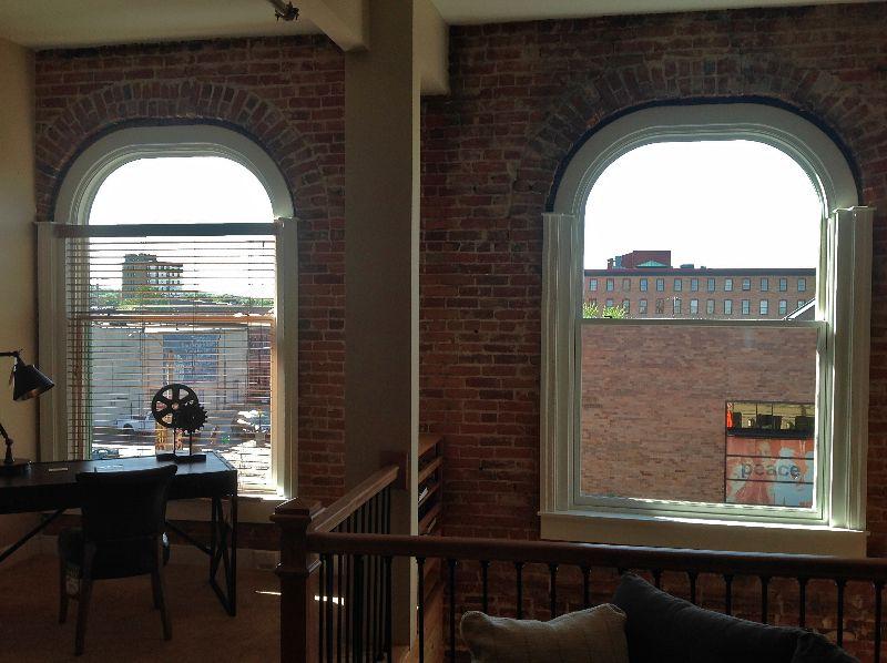 Andersen ESeries custom arch windows from Hannapel