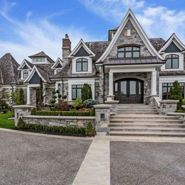 Stone Luxury Home Designs: Richard Mann Architect
