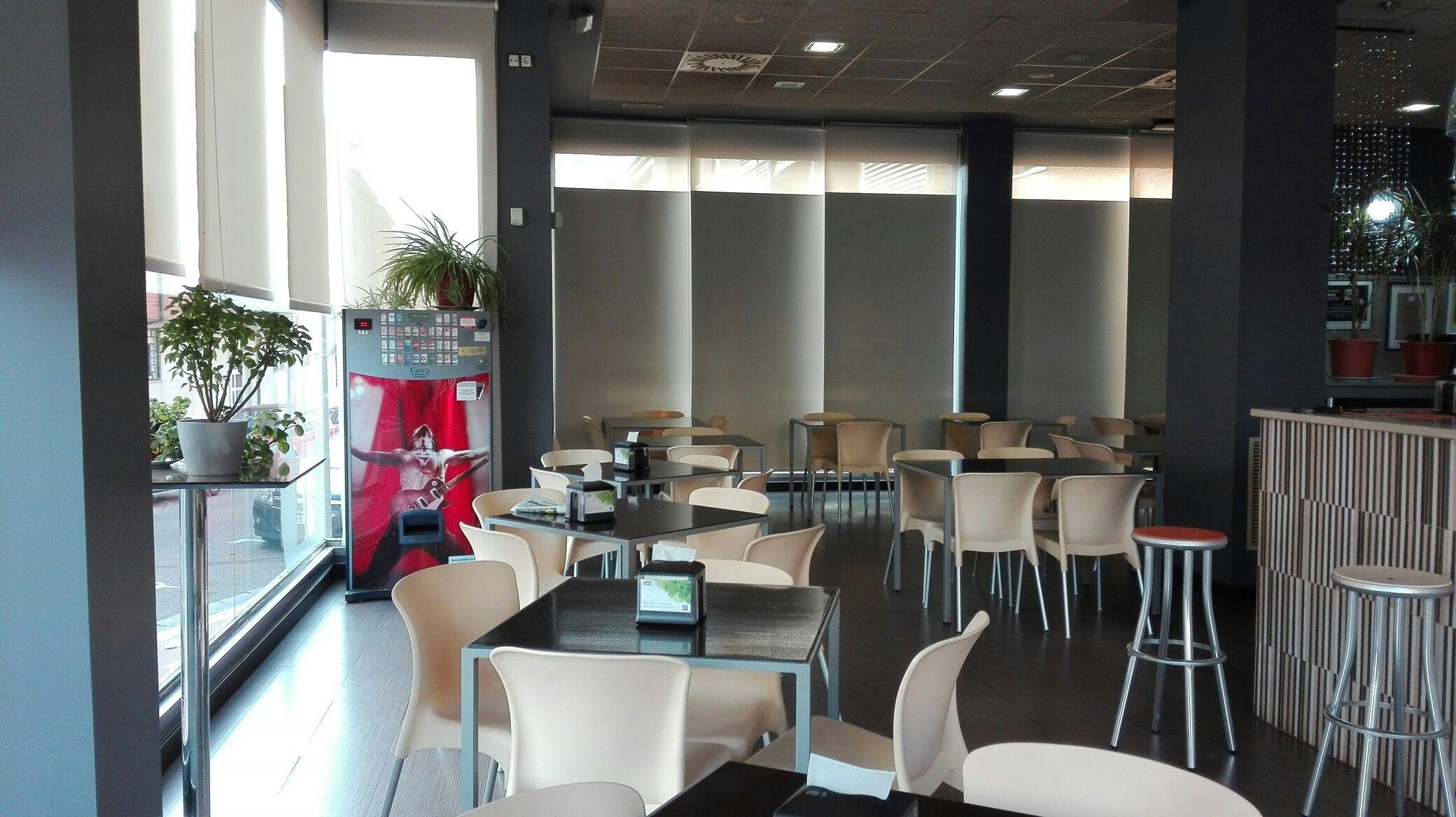 Estores para comedor del Restaurante el Chaflan | NUESTROS PROYECTOS ...