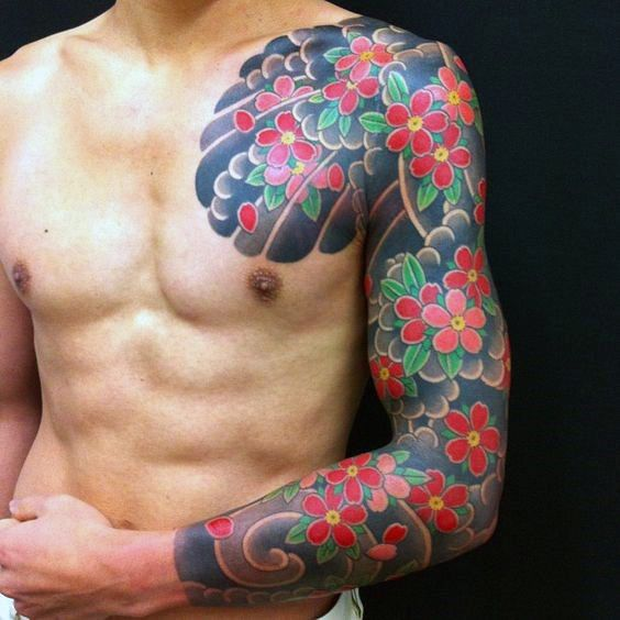 Japanese Flowers Tattoo Names And Their Meanings Japanese Flower Tattoo Flower Tattoos Tattoos