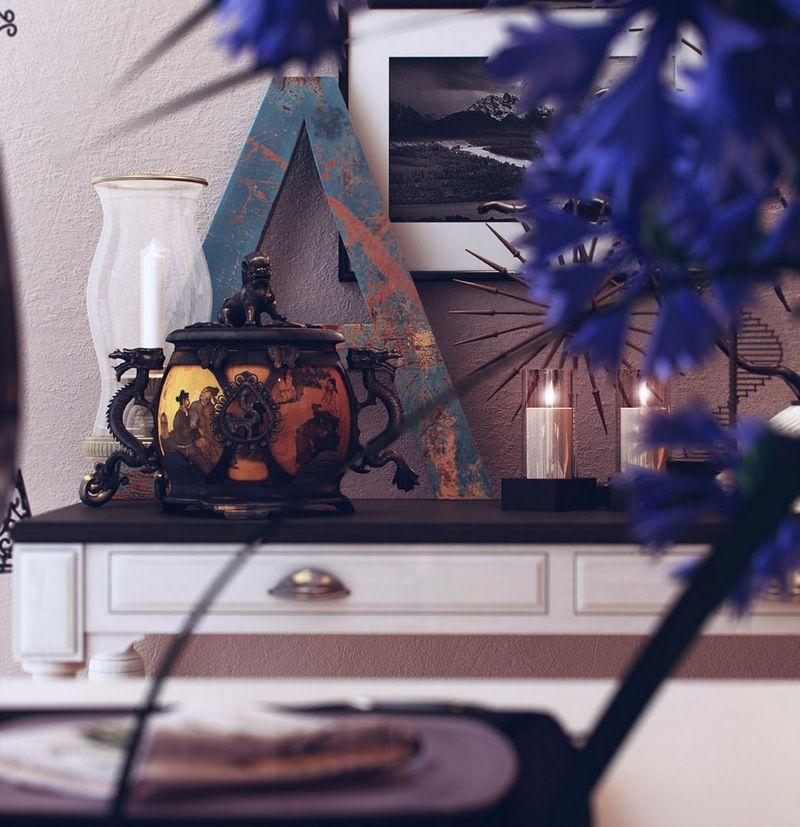 White sideboard For the Home Pinterest Asian inspired decor