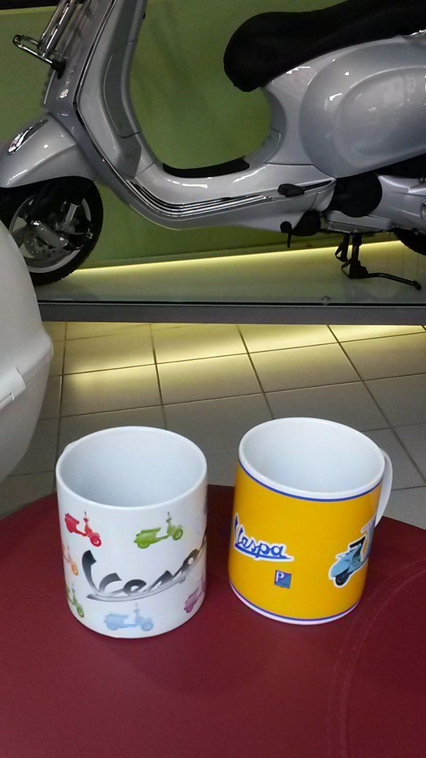 mug @vespa_official tazze