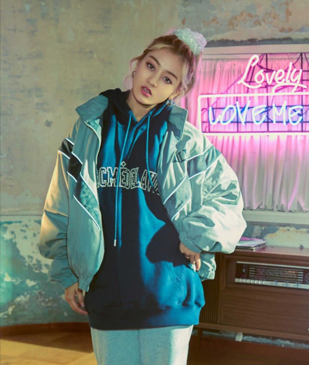 Image result for jihyo hoodie photoshoot