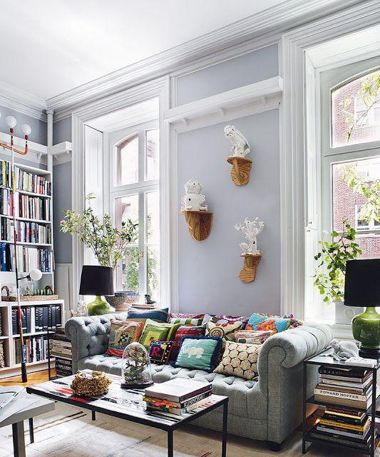 41 ideas inspiradoras para la decoración de su sala de estar ...