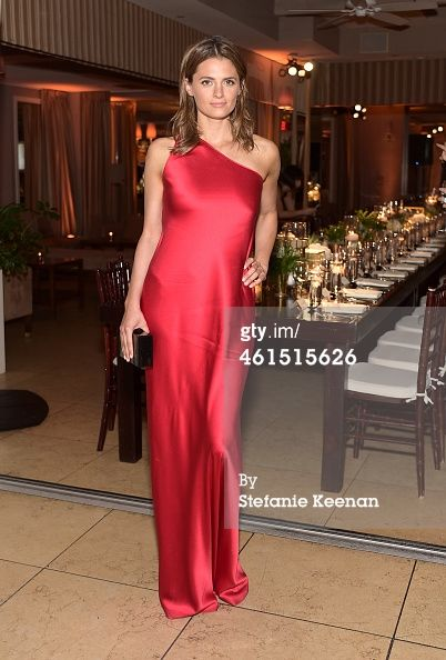 Actress Stana Katic Attends Elle S Annual Women In Television