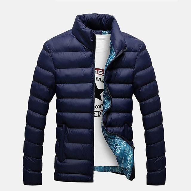 2017 New Men Jacket Autumn Winter Men Fashion Coat Casual Outwear