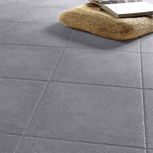Carrelage Exterieur Michigan Aero En Gres Cerame Emaille Anthracite 34 X 34 Cm Painting Tile Tile Floor Home Decor