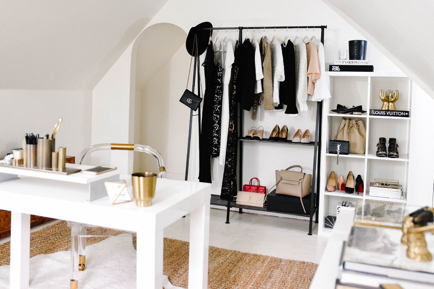 Fashion Jackson, Dallas Blogger, Home Office, Clothing Rack, How to ...