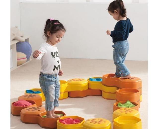 Fühlwaben-Parcours für #Kinder #Wahrnehmung #Sinne #Gleichgewicht ...