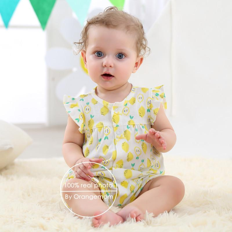 dc8afa876 2018 orangemom baby girl clothes one-pieces jumpsuits baby clothing ...