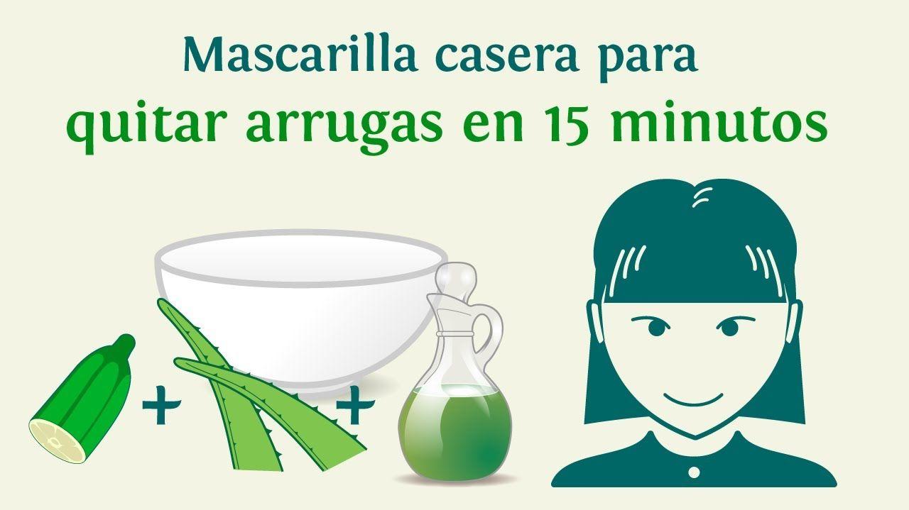 Mascarilla Casera Para Quitar Arrugas En 15 Minutos Sabila Pepino Aceite De Oliva Quitar Arrugas Arrugas Recetas De Belleza