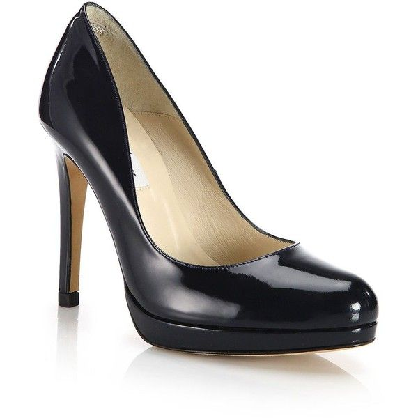 LK Bennett Sledge patent-leather courts | Leather court