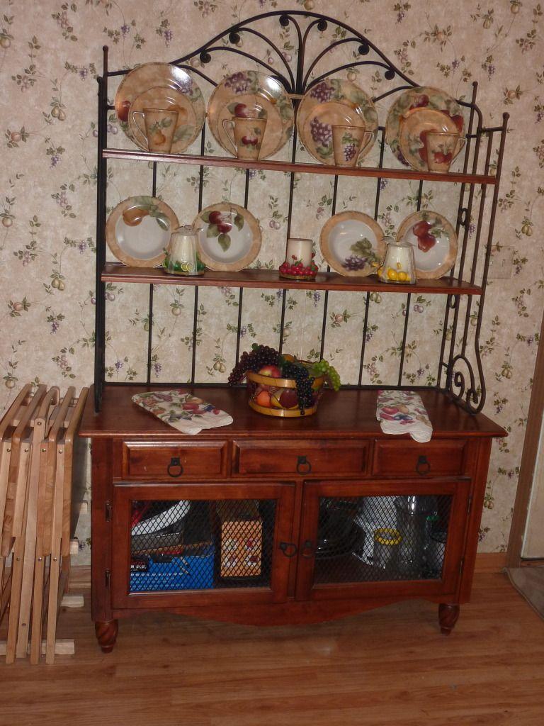 Bakers rack - $400 (most like Lisa's)   Home decor, Decor ...