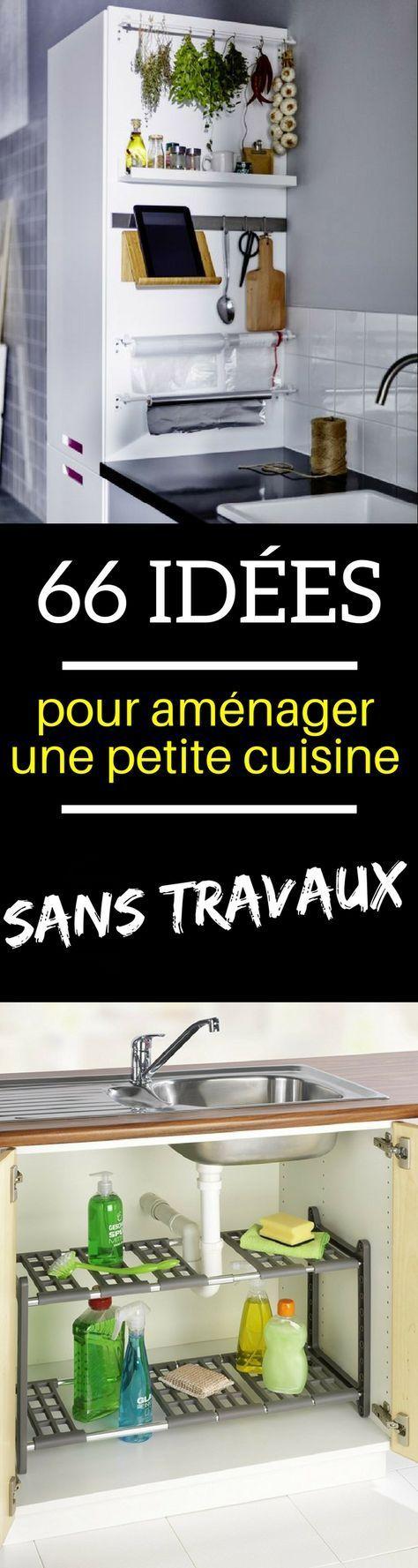 66 astuces id es rangement am nagement petite cuisine inspiration organisation - Cuisine pratique et fonctionnelle ...