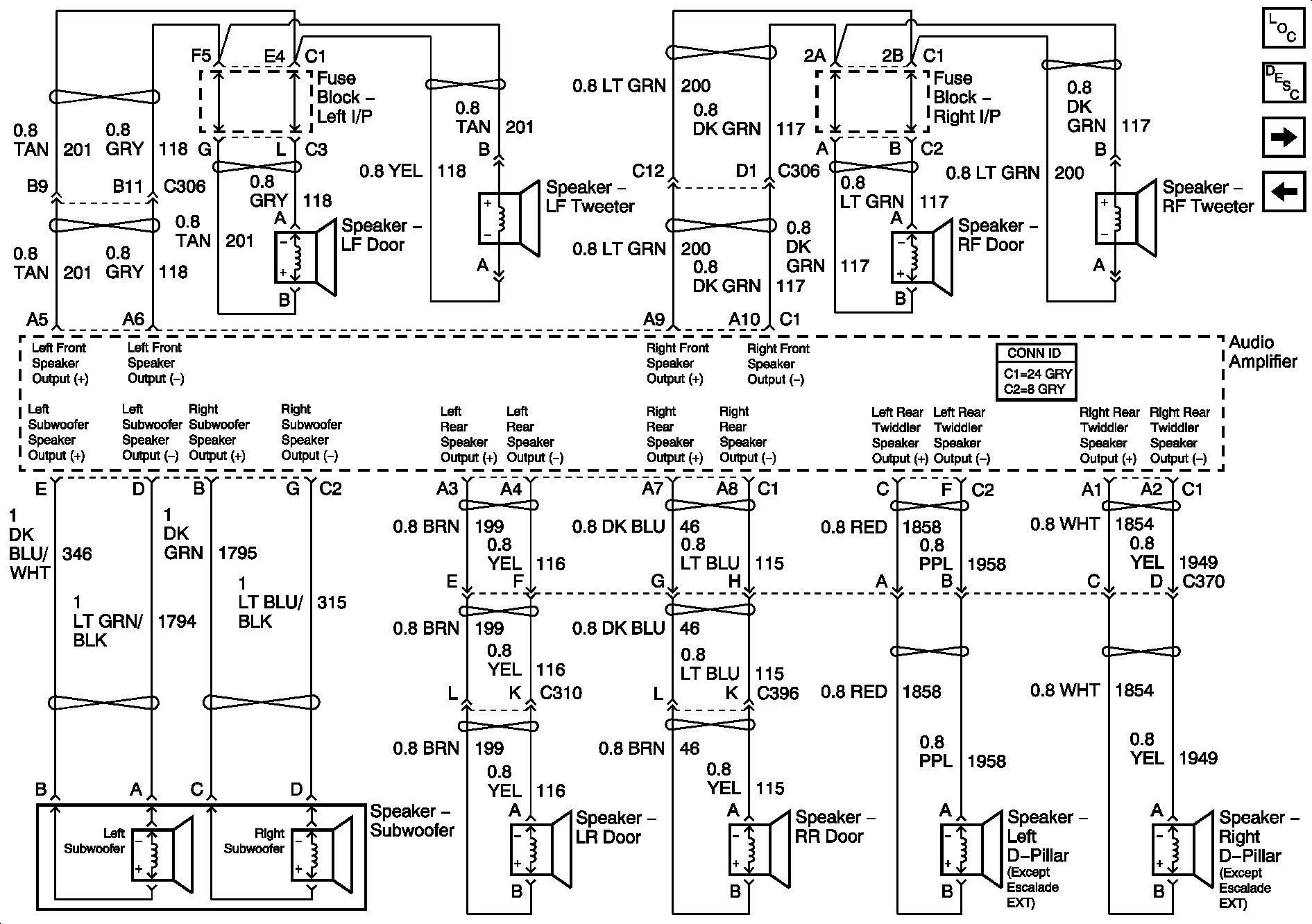 Unique Chrysler Infinity Amp Wiring Diagram Car