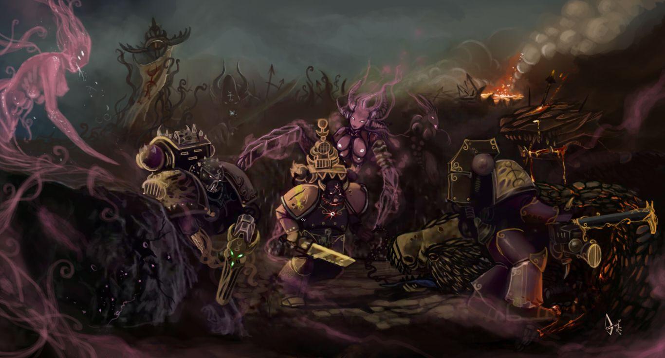Slaanesh-Goddess-Heresy-Wh-Other-Warhammer-40000-фэндомы-2150478.jpeg (1366×736)