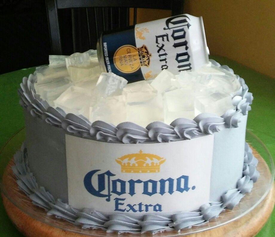 Torta Cerveza Corona Ideas De Cocina Pinterest Cake Pastels