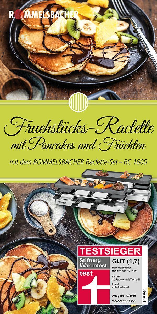 Raclette das ganze Jahr genießen - mit dem Testsieger