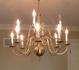 Spray paint brass chandelier light gallery light ideas yes i did this too i bought this same chandelier from goodwill sprays yes i did how to paint brass chandeliers home aloadofball Images