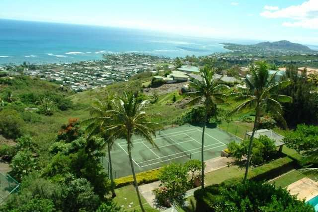 Tennis Properties For Sale on Oahu Hawaii life, Oahu