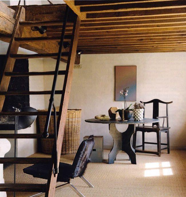 Interior Rustico Minimalista En