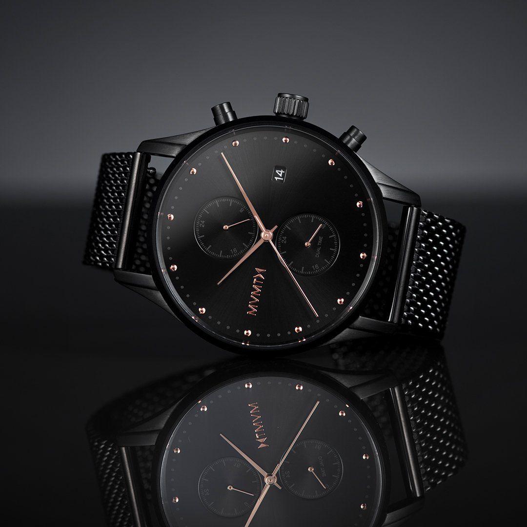 Slate Black Rose in 2021 | Mvmt watches black, Mvmt watches, Mvmt watches  mens