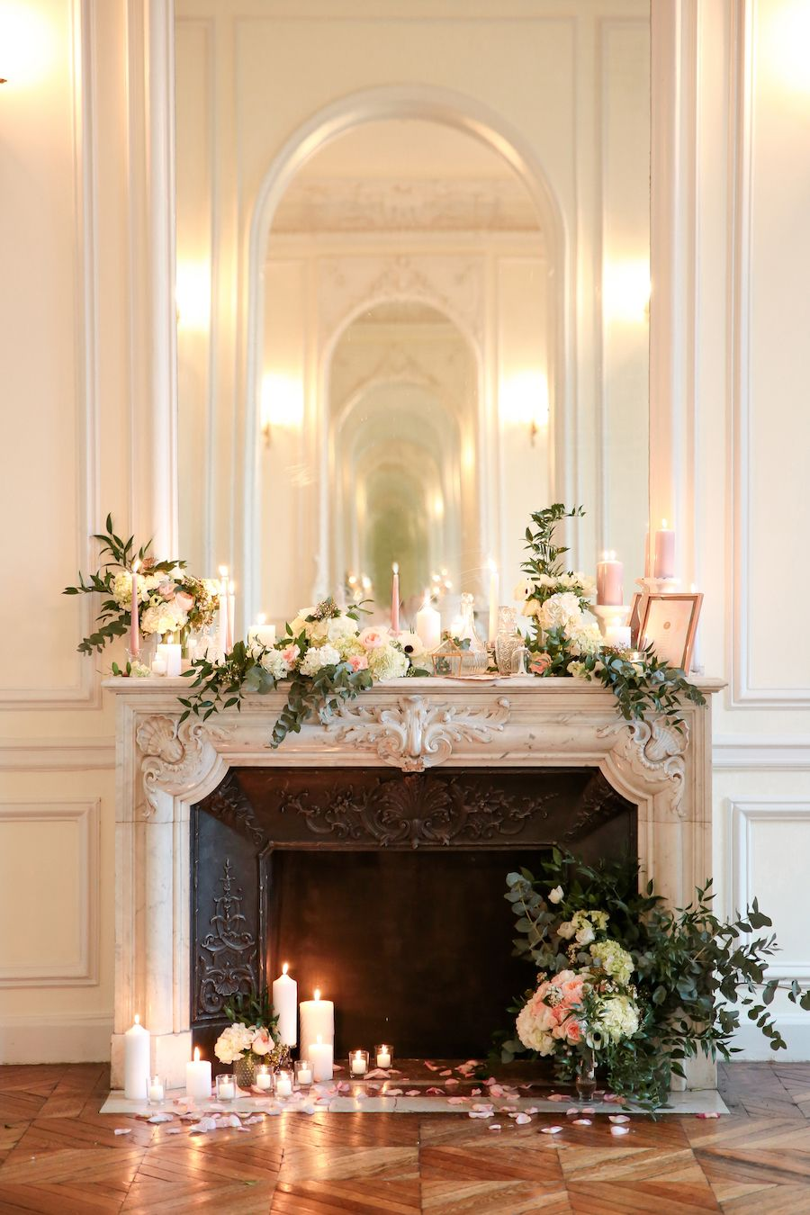 Photo of French style and modern details for a castle wedding | Wedding Wonderland