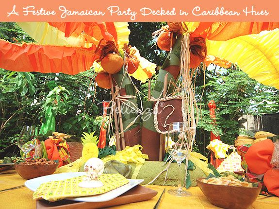 Caribbean Theme Party Ideas On Pinterest: So Zesty! Orange Wedding Color Palette Ideas