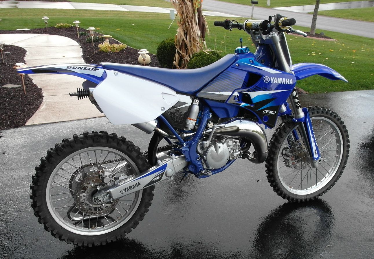 Our 1999 Yamaha Yz125 Restoration Motorcycle Design Yamaha Yz 125 Motorcycle