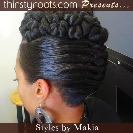 African American French Roll Hairstyle | Other Images In This Gallery