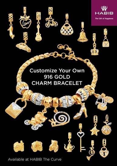 Auntie Habib Emasdora 916 Wish List Bracelets Jewelry