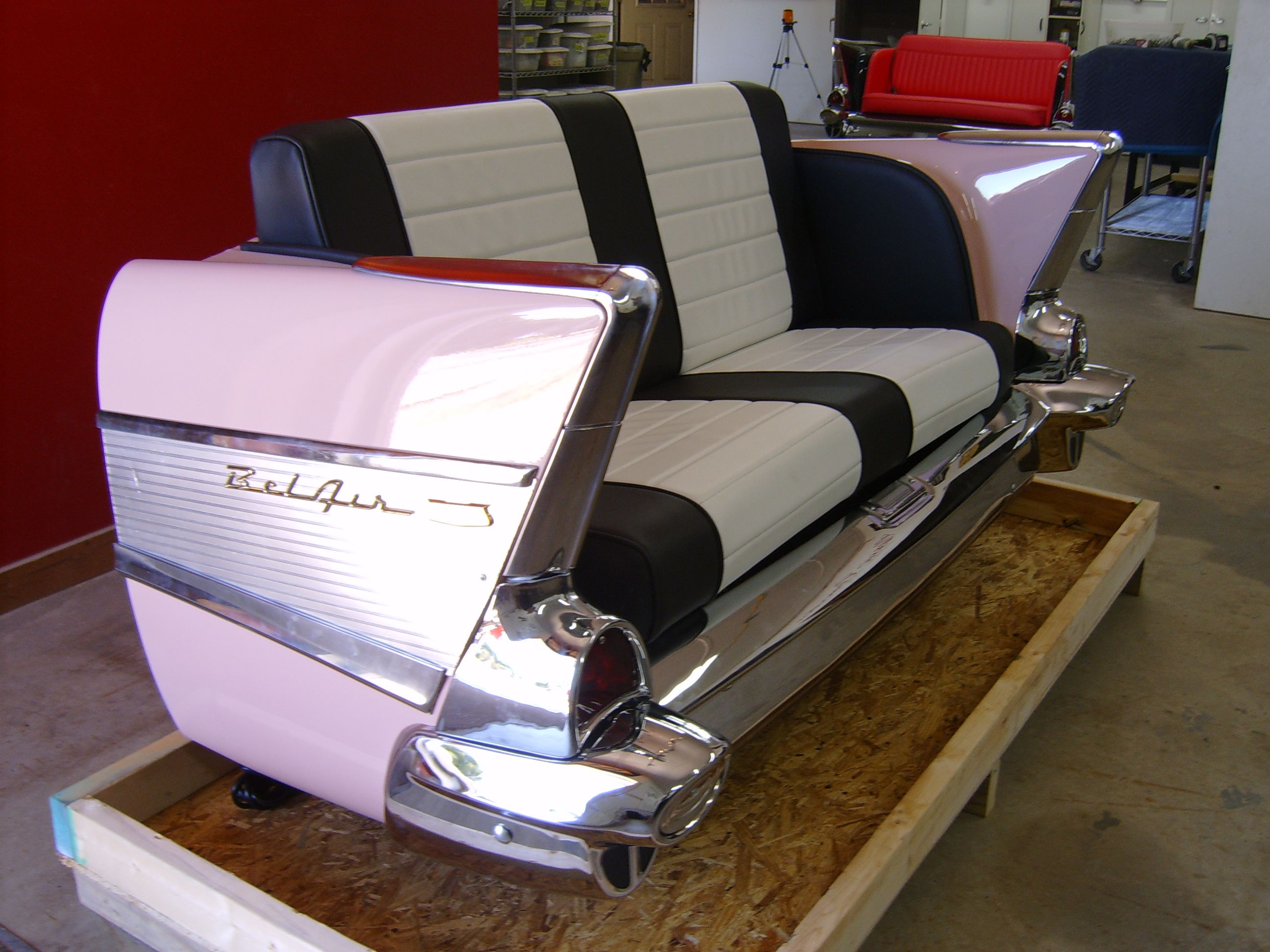 Classic Car Furniture | ... Cars : Restored Classic Car Furniture ...