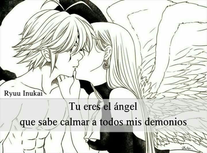Tu Eres Mi Angel Frases Pinterest Otaku Anime Y Frases
