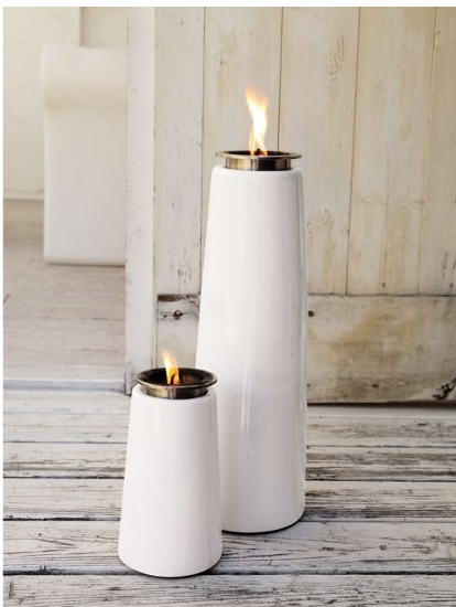 Discover The Lighthouse Outdoor Torch, An Outdoor Lamp Inspired By  Scandinavian Lighthouses, A Modern Alternative To Tiki Torches That Offers  A Steady Flame ...