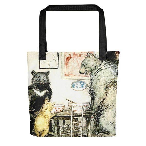 Vintage Arthur Rackham Fairy Tale IllustrationTote bag