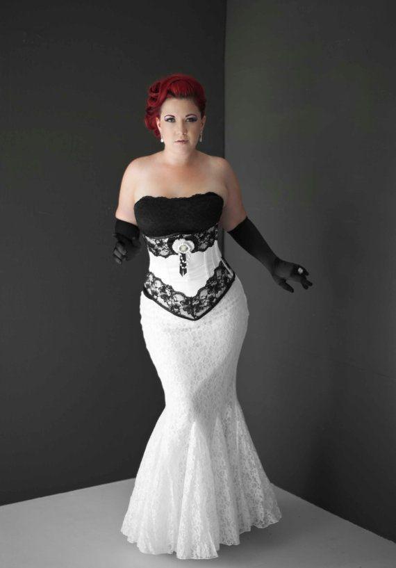 Bridal underbust corset