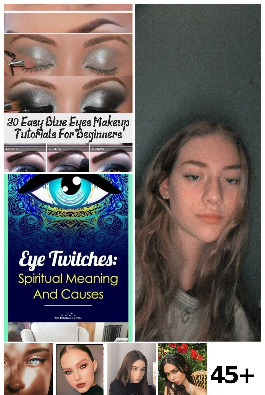 Inserted In 2020 Blue Eye Makeup Tutorial