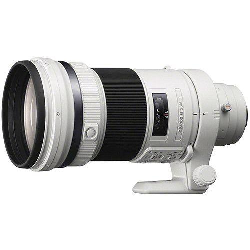Sony 300mm F 2 8 G Ssm Ii Lens Sony Digital Camera Sony Digital Sony Lens