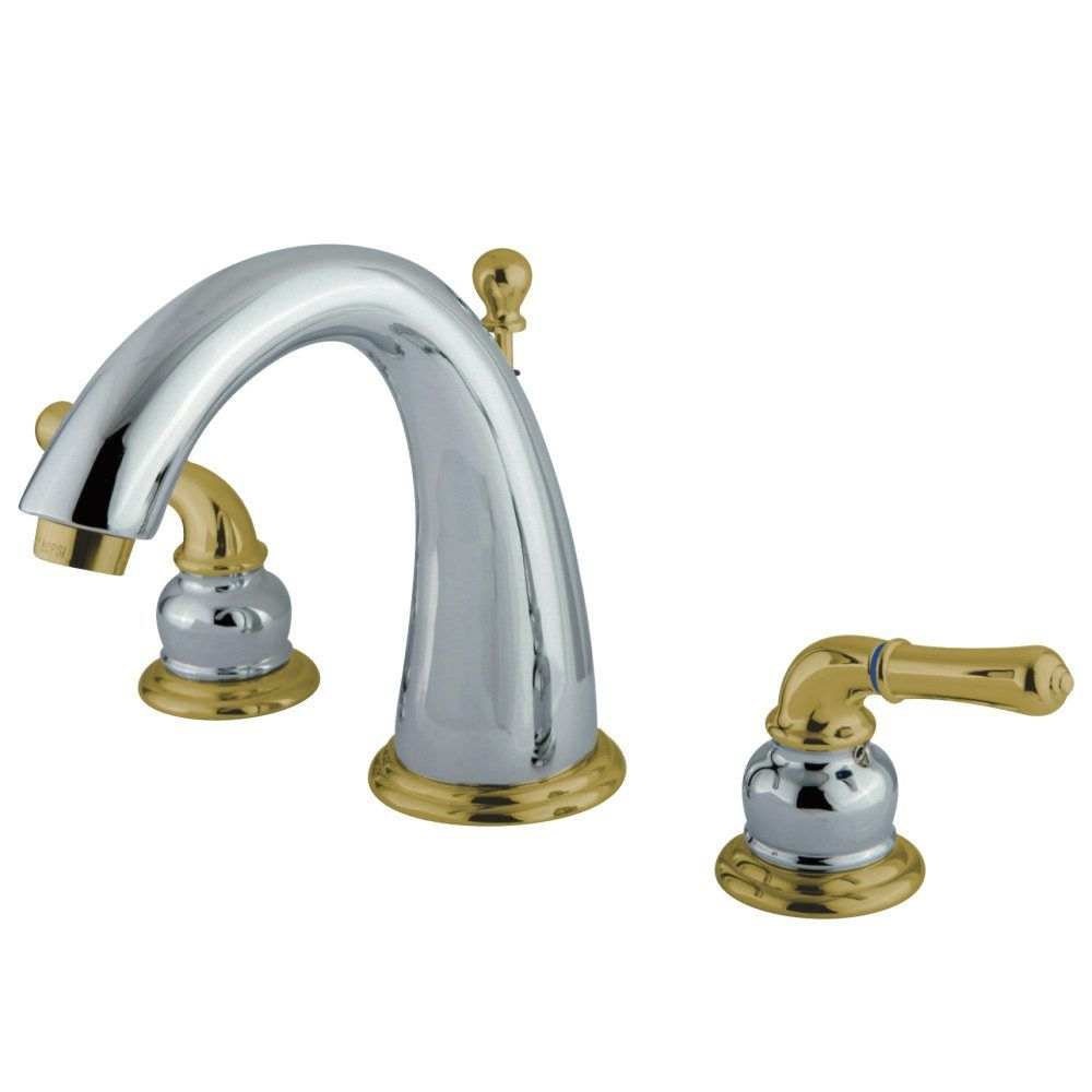 Ks2964 8 In Widespread Bathroom Faucet Polished Chrome Polished