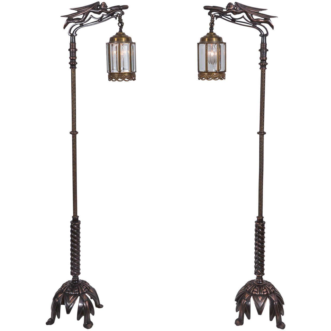 Pair of Vintage Rembrandt Bridge Lamps   Rembrandt, Floor lamp and ...