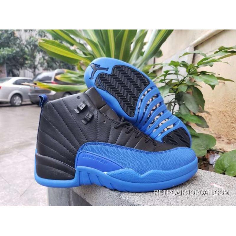 Air Jordan 12 Black Game Royal-Black