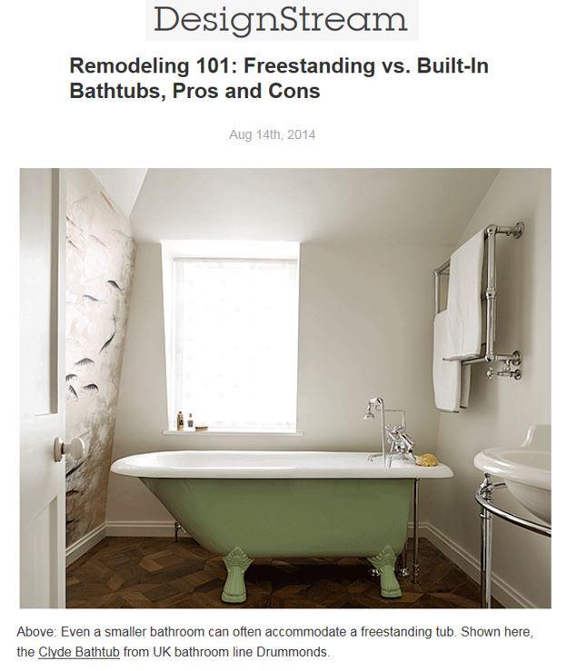 Bathroom Plumbing 101 Interior drummonds' freestanding clyde bath tub drummonds-uk http