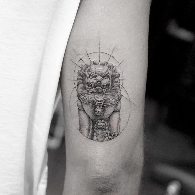 WEBSTA @ mr.k_tattoo - 👹@bangbangnyc #bangbangforever #bangbangtattoo