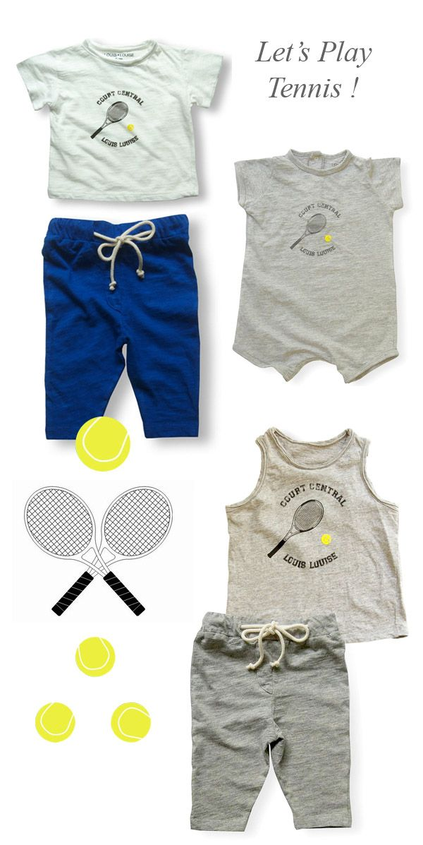 French Blossom Blog Childrens Fashion Tennis Clothes Kids Outfits