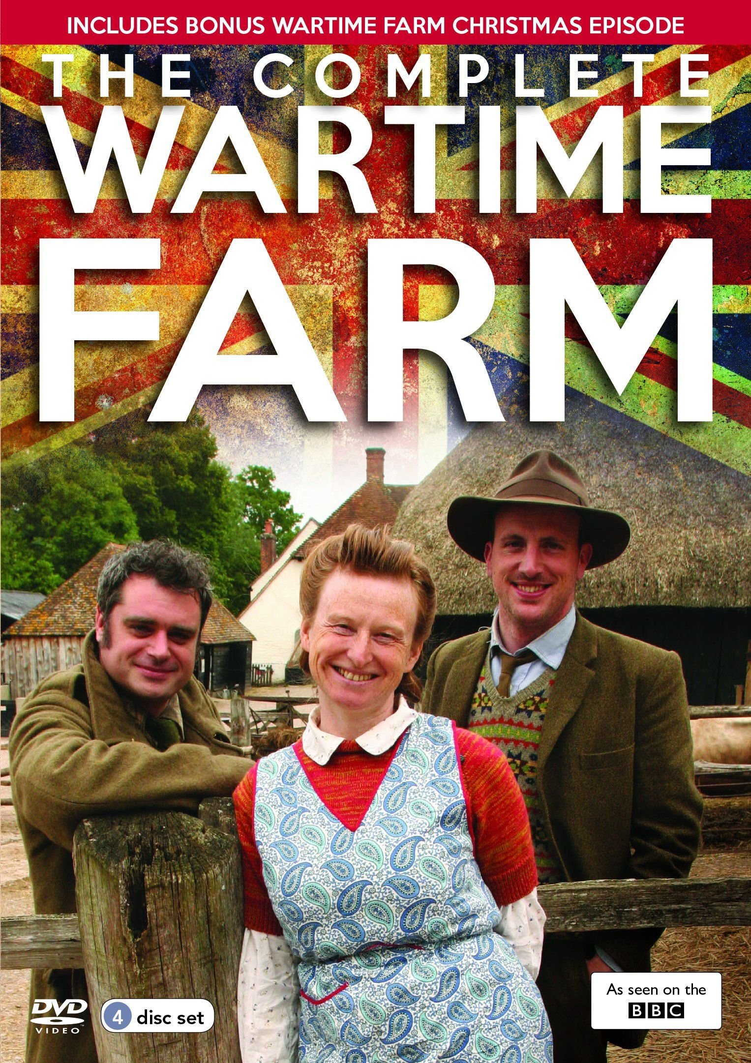 The Complete Wartime Farm [DVD] Ruth goodman, Farm books