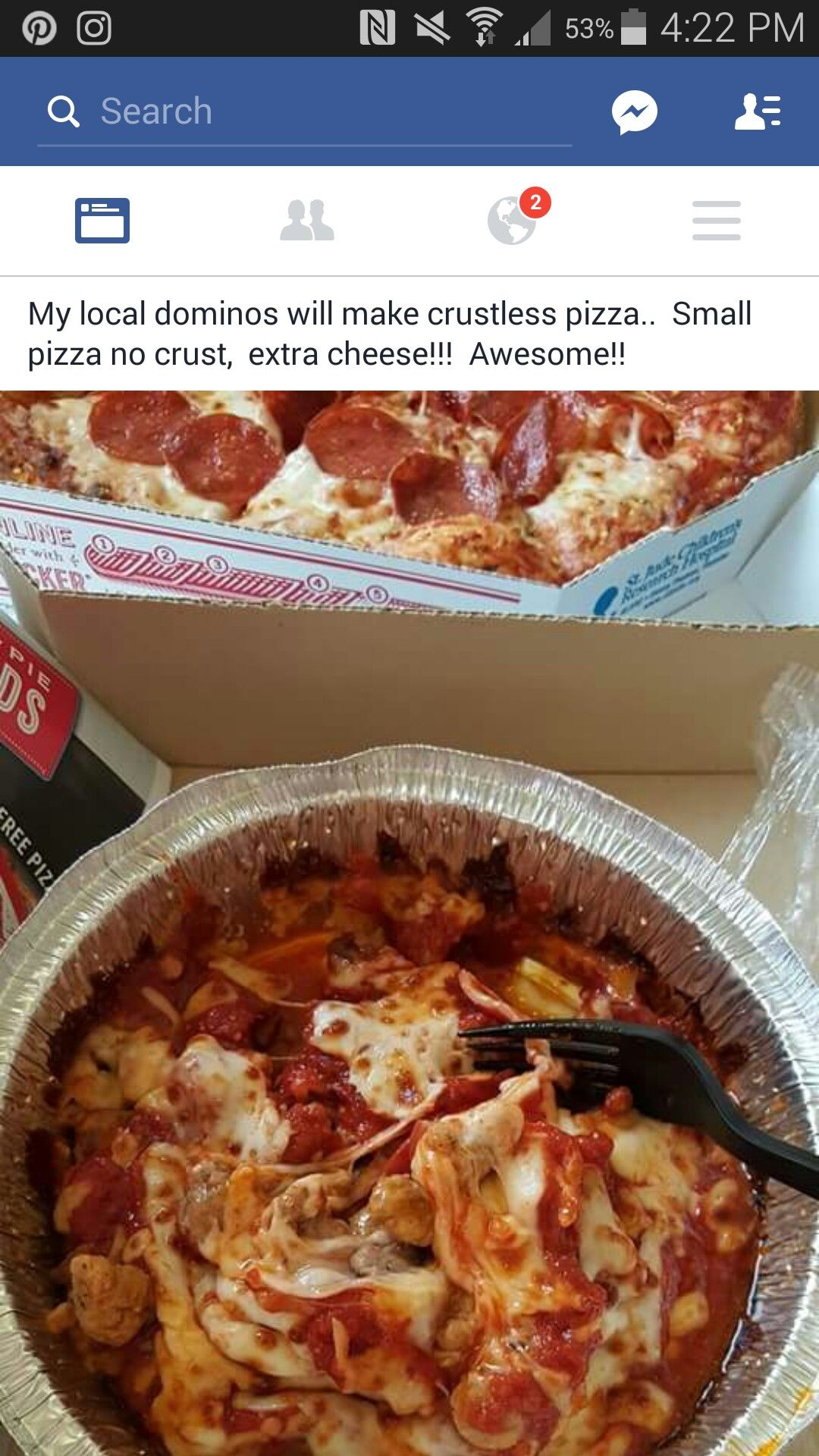 low carb from domino's | keto/ low carb food ideas | pinterest | low