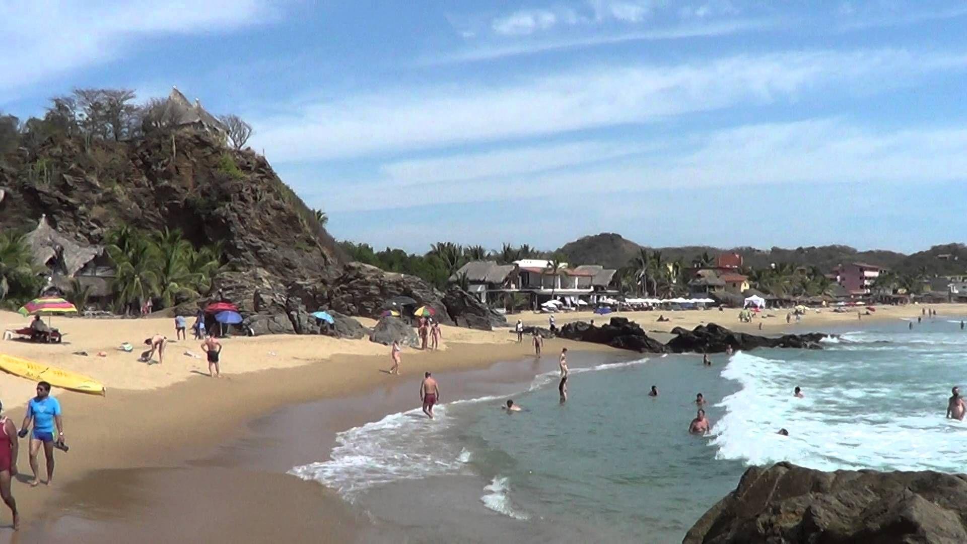 Playa de Zipolite, Mexico - Picture of Puerto Angel