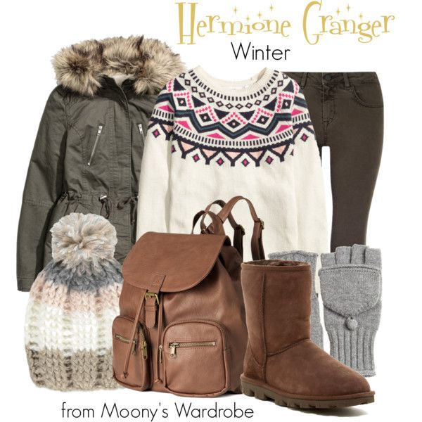 Hermione Granger Winter By Evalupin On Polyvore Featuring