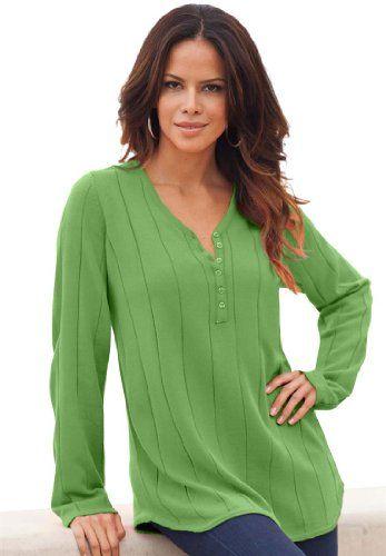 Roamans Women`s Plus Size Drop Needle... $40.25 #topseller