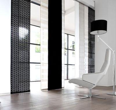 rideaux pour le salon s lection d co mod les de. Black Bedroom Furniture Sets. Home Design Ideas